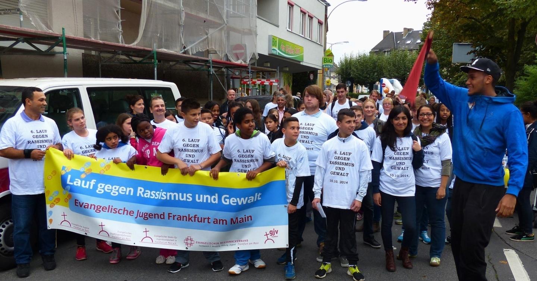 Lauf gegen Rassismus 2014