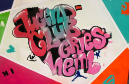 Graffiti-Workshop im Jugendclub Griesheim