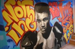 Graffiti-Aktion im Jugendtreff Zeilsheim
