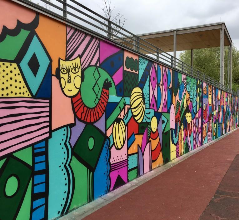 Elbfeldschule Praunheim Kunst_2_04_2017