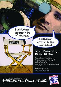 Flyer-Filmprojekt