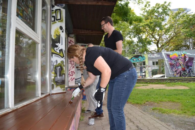 Social Day mit CBRE im Jugendhaus am Bügel