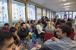 """Eröffnung """"café iZi"""", Evangelischer Verein für Jugendsozialarbeit in Frankfurt am Main e.V."""