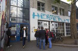 Frankfurt: Jubiläumsfeier 25 Jahre Jugendhaus Heideplatz.  Foto vom 20.09.2017  Foto: Rolf Oeser