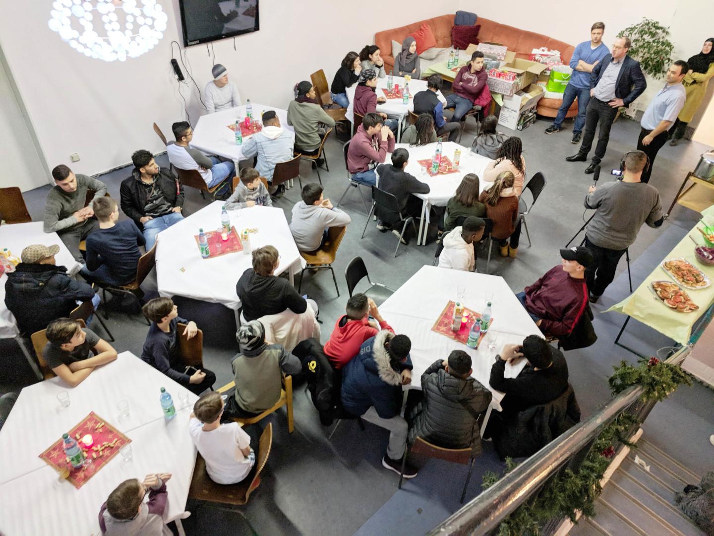 Genschenke von Dimension Data an das Jugendhaus Frankfurter Berg
