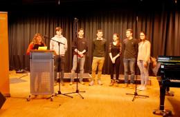 Spendenlauf der Otto-Hahn-Schule: Das Finanzkomitee der Abiturienten