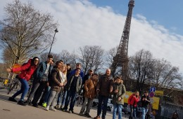 Freizeit Sindlingen Paris 2018